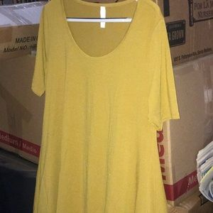 Small Golden Yellow Perfect Tee